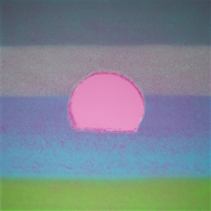 sunset [357] by andy warhol